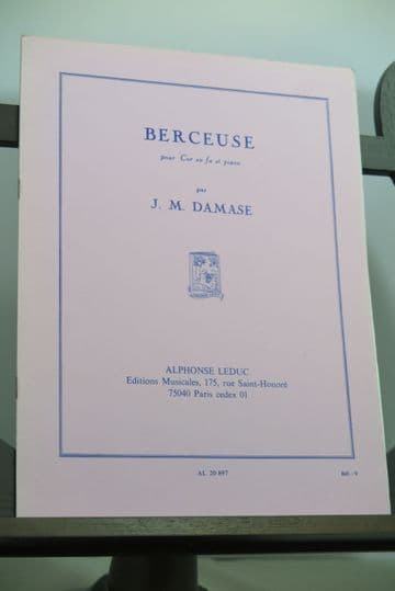 Damase J M - Berceuse Op 19 for Horn & Piano